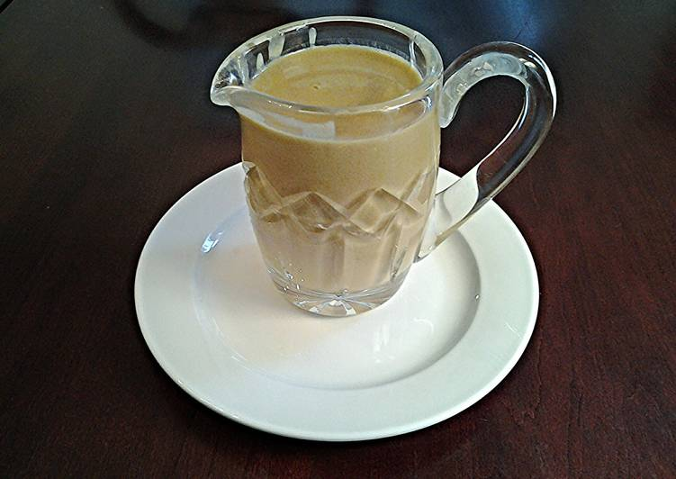 Steps to Prepare Super Quick Homemade Coffee Creme Anglaise