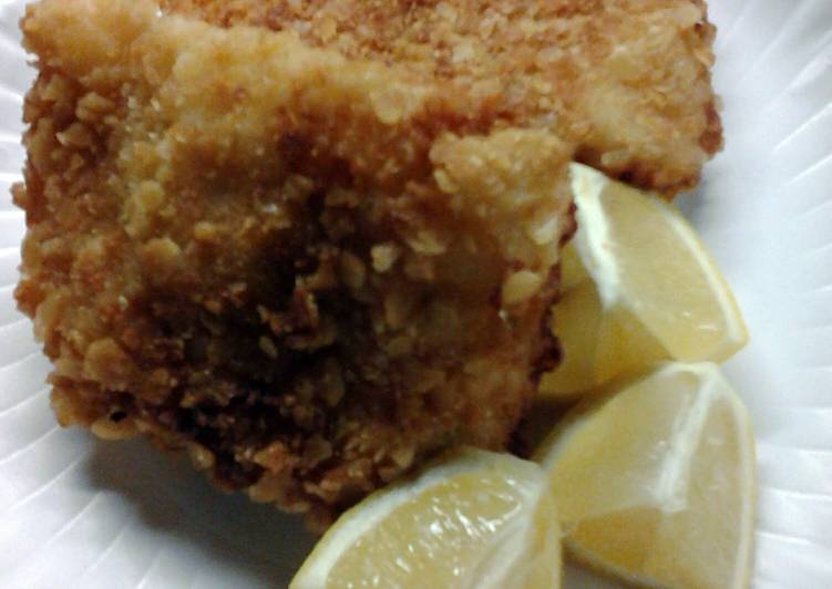 Steps to Prepare Homemade Copycat Lubys Baked Fish