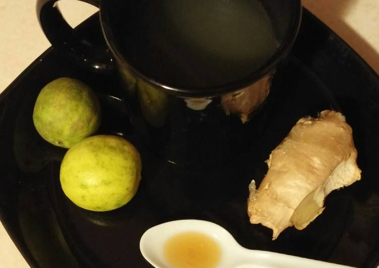 Ken's Soothing Ginger-Key Lime Tea