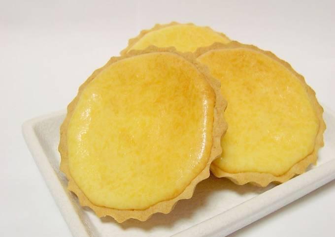 Rich Baked Cheesecake Tarts