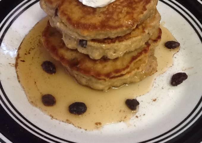 Secret to Make Tasty Oatmeal raisins Pancakes Cookies