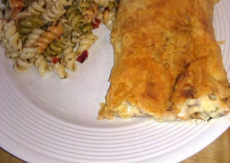 Easiest Way to Prepare Appetizing Ham & cheese strudel