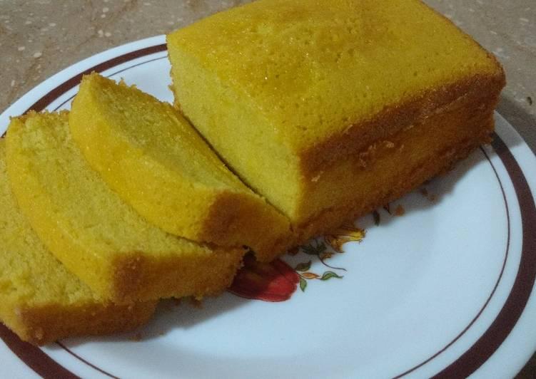 Tea Pound Cake. Simple Tea Time Cake