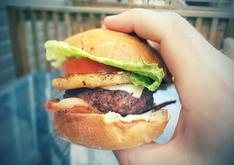 Easiest Way to Prepare Any-night-of-the-week Aloha Burger