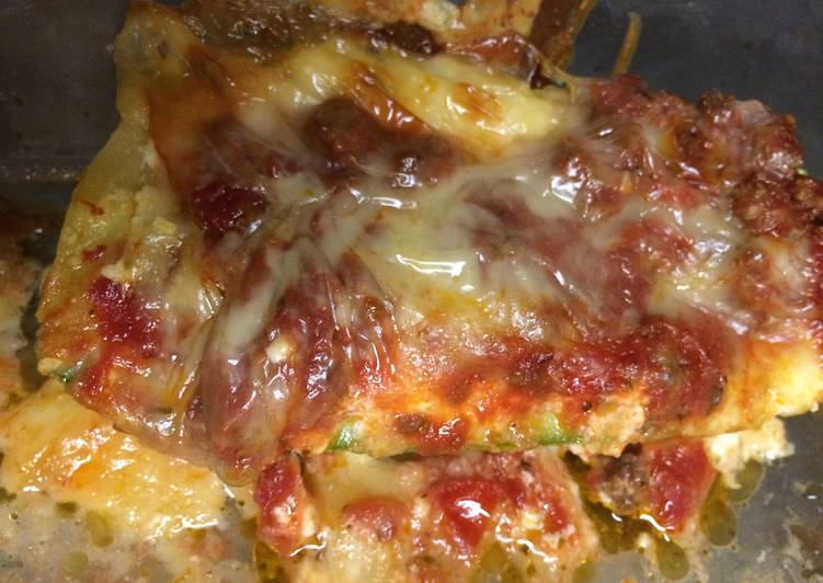 New Secret LOW CARB | Lasagna Zucchini Boats Free Download