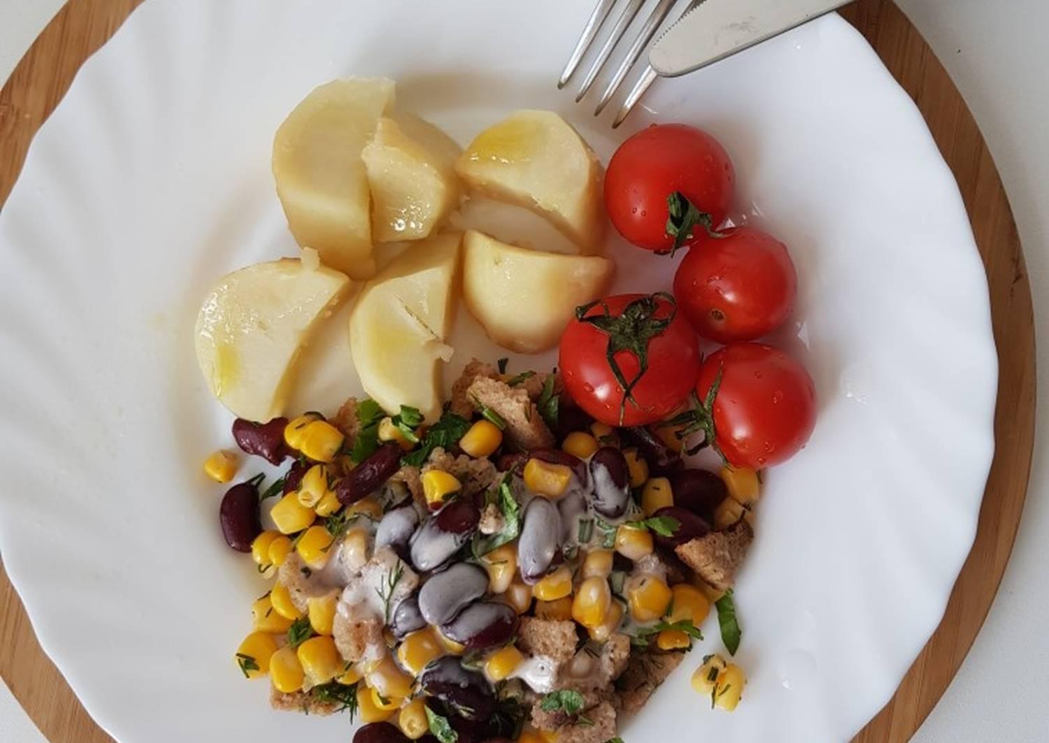 где постные салаты рецепты с фото великий пост пришел нам