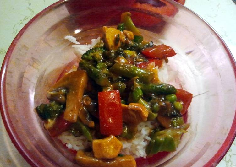 Simple Way to Make Favorite Momma's St. Patrick's Day Stirfry