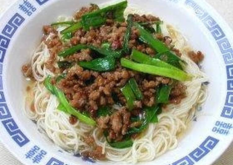 Steps to Make Any-night-of-the-week Taiwanese Style Somen Noodles