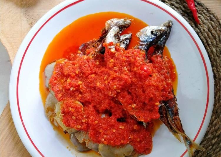 Ikan Laut mix Jengkol Lado Merah