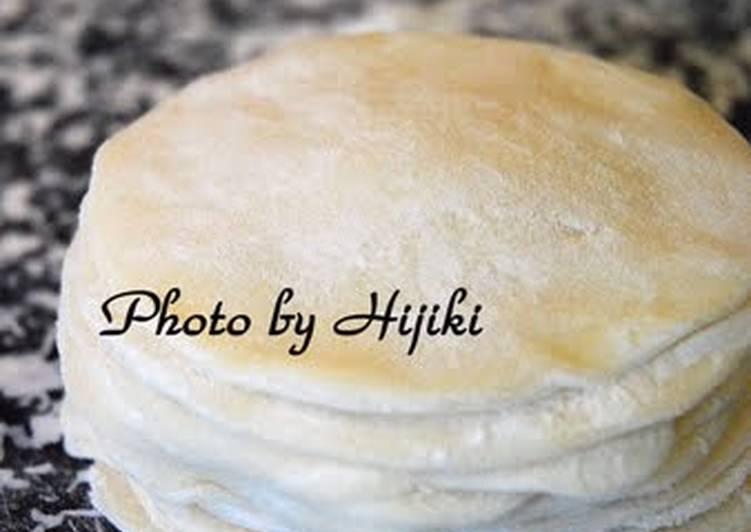 Recipe of Ultimate Super Easy Gyoza Dumpling Skins