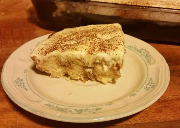 Recipe: Perfect Cinnamon Roll Poke Cake