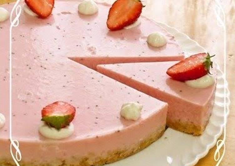 How to Make Favorite Strawberry No-bake Cheesecake