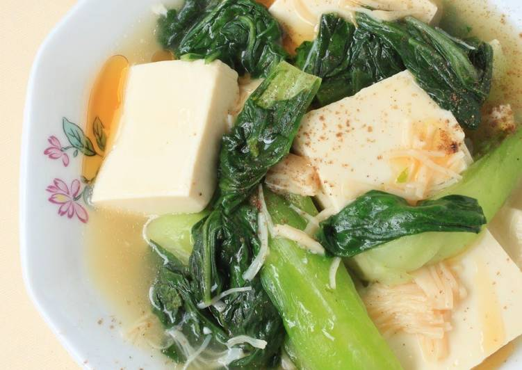 Top 10 Dinner Easy Fall Easy Tofu and Bok Choy Stir Fry with Szechuan Pepper
