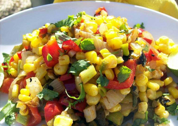 Recipe: Appetizing Toni's Fiesta Corn Salsa