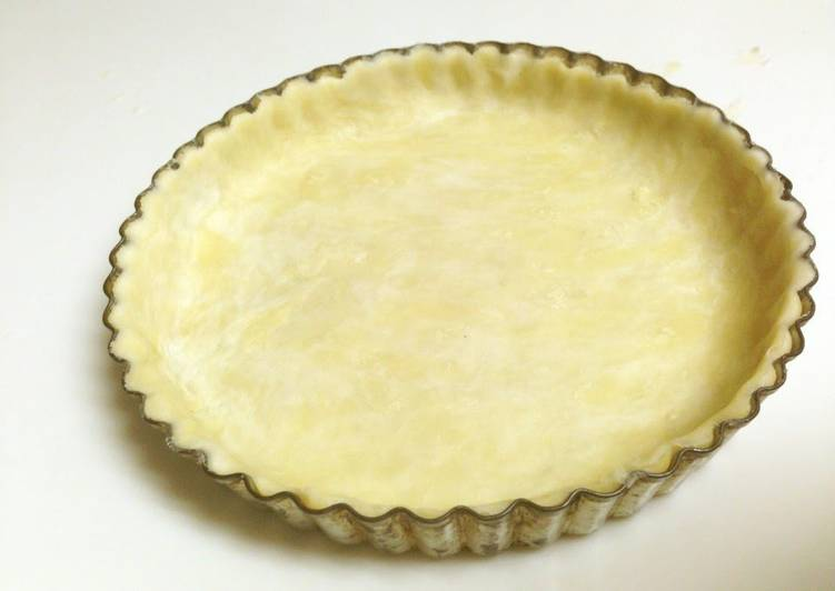 How to Prepare Appetizing Vegan Tart Crust