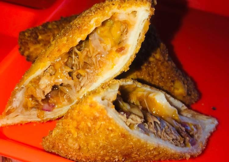 Recipe of Ultimate BBQ Rib Samosas