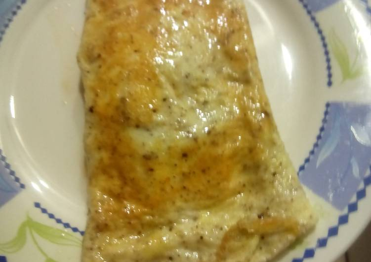 Easiest Way to Make Perfect Cheese Omelet by Nancy