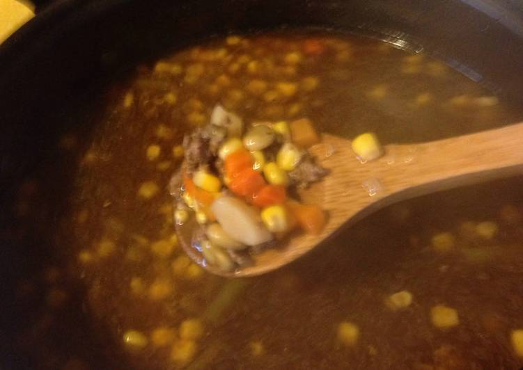 Simple Way to Make Perfect Jessies Vegetable Beef Soup