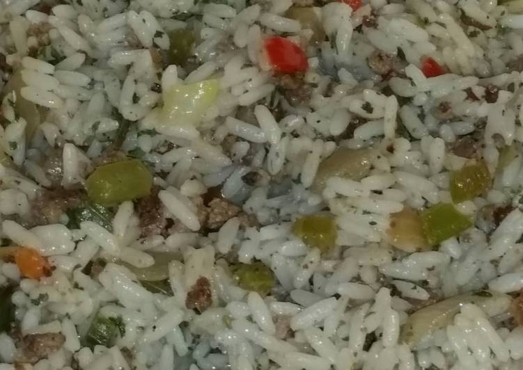 5 Minute Step-by-Step Guide to Make Quick Dirty Rice
