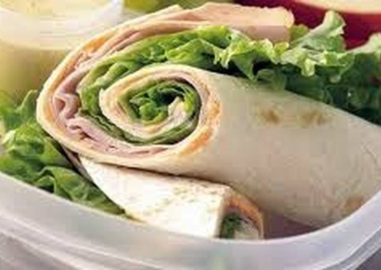 Steps to Prepare Quick Tortilla roll up