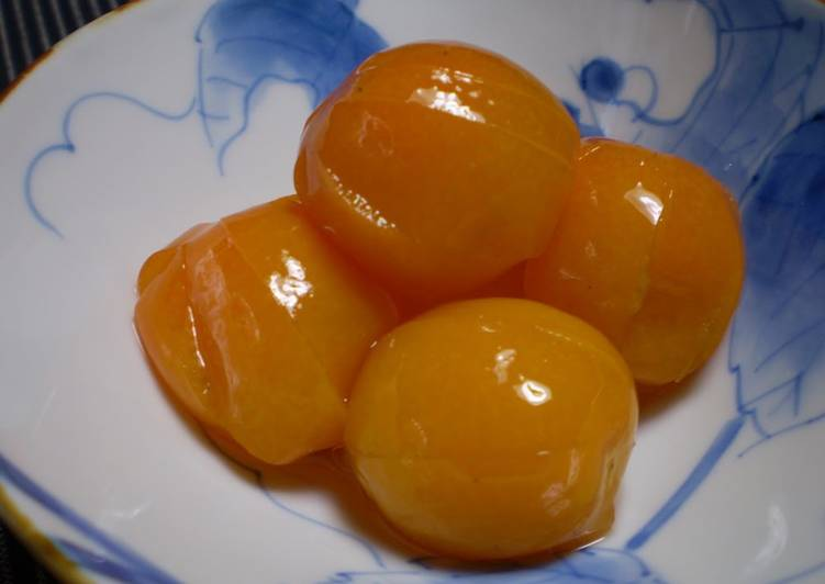 Candied kumquats