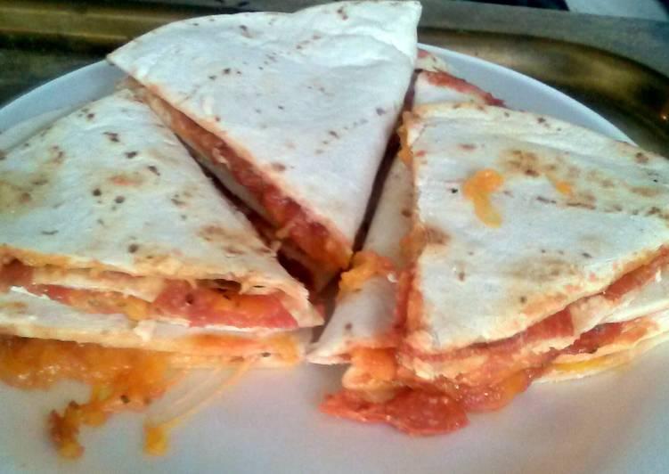 Permalink to Pizza- dillas!!! Recipe