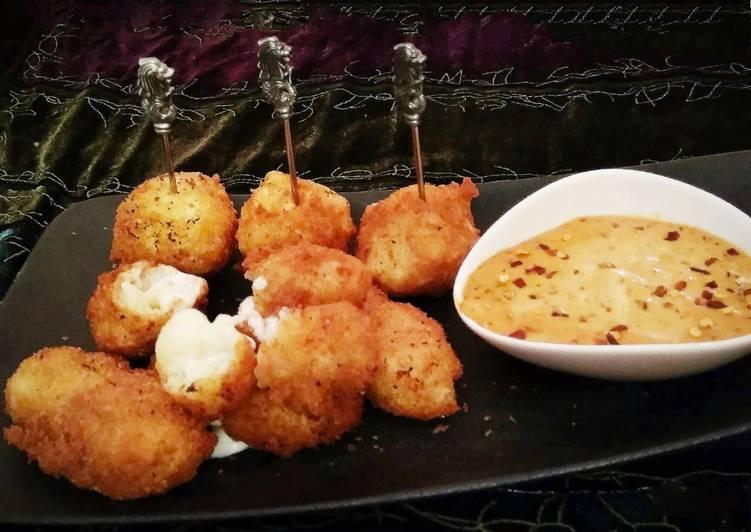 Recipe: Yummy Mac & Cheese bombs