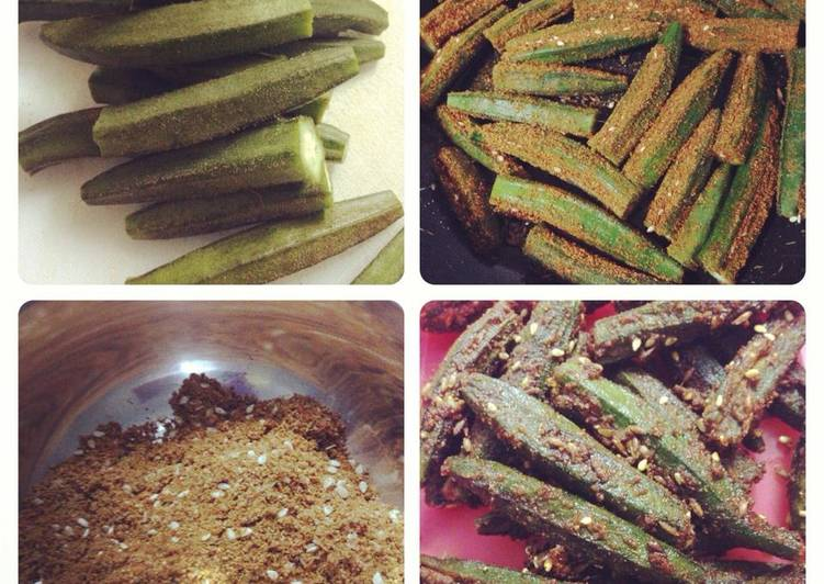 Bharwan Bhindi/Stuffed Okra - Laurie G Edwards