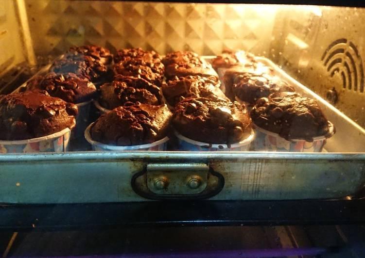 <<Makanan bayi>> Mufin coklat