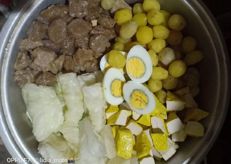 Resep Siomay ikan (tongkol) untuk jualan