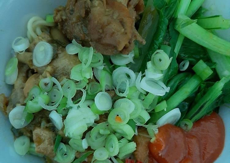 Mie ayam resep mertua