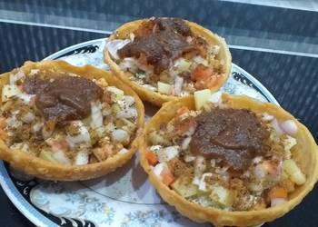How to Prepare Appetizing Katori chaat cookpadramadan CookpadIftari