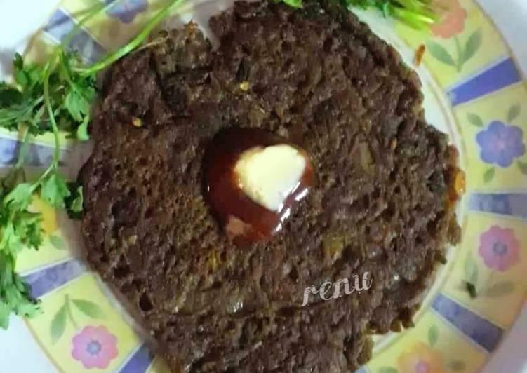 Ragi Savoury Pan Cake