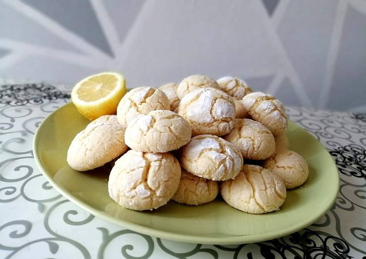 Ricetta Biscotti morbidi al limone