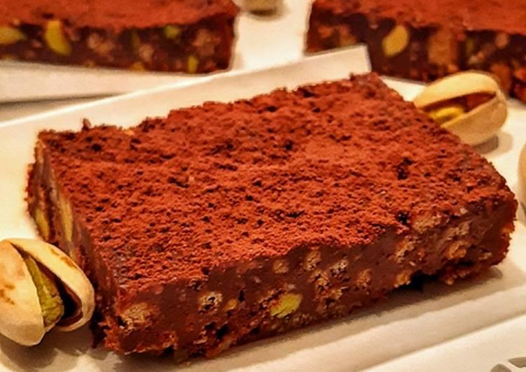 Ricetta Dolcetti con Cioccolato e Pistacchio Salato
