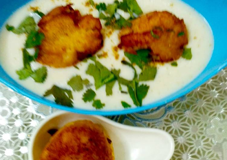 Recipe of Top-Rated Bread Kofta in White Sause