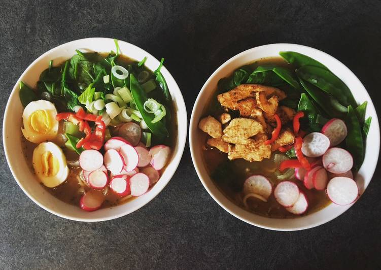 Relaxed Ramen - Veggie & or Chicken