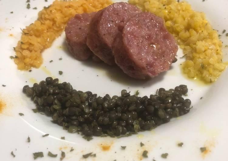 Ricetta Cotechino e cromature di lenticchie