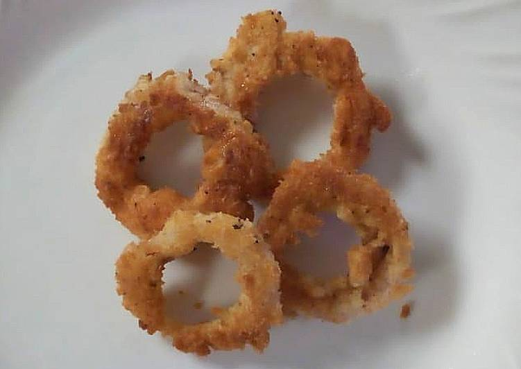 Recipe of Speedy Onion rings