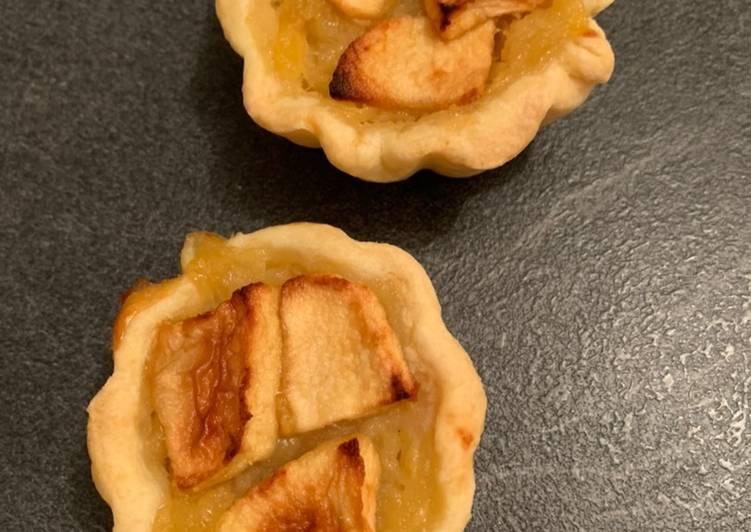 recette Tartelettes aux pommes délicieux