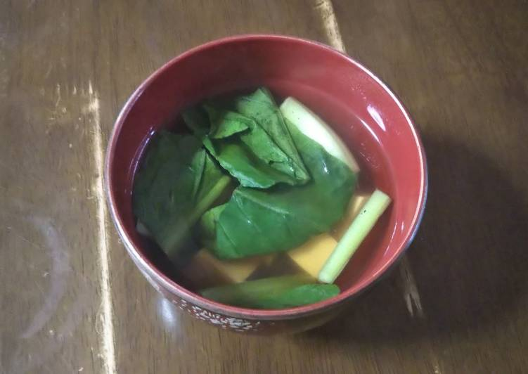 Step-by-Step Guide to Make Any-night-of-the-week Vegans Sumashi soup