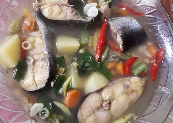 Langkah Mudah Memasak Sup Ikan Patin, Lezat