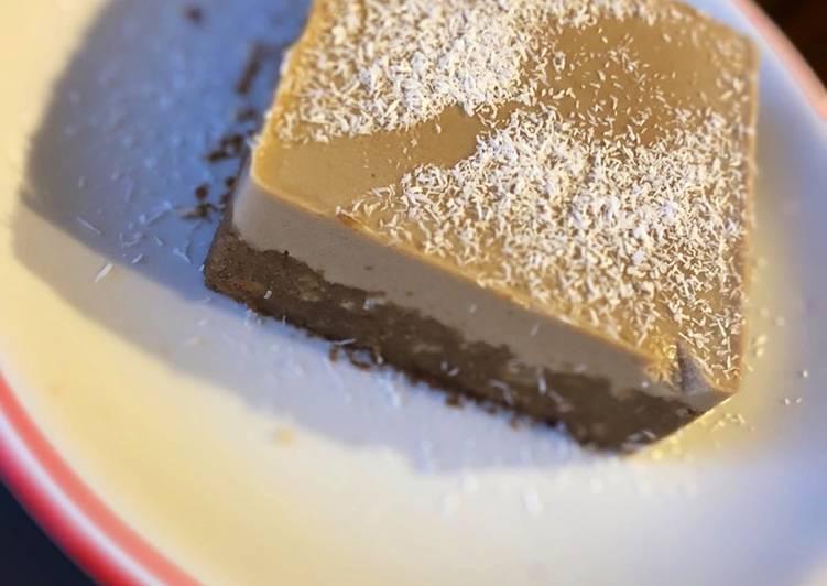 Fit-cheesecake al caffè