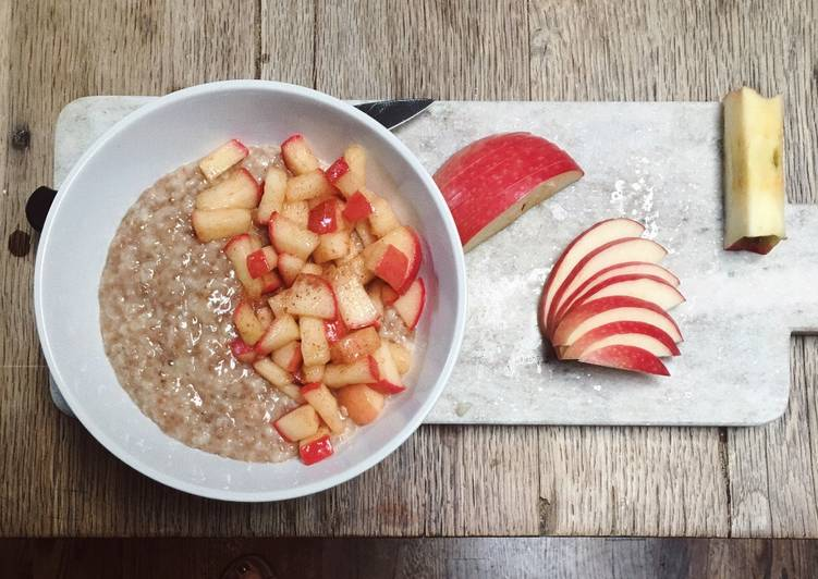 Steps to Prepare Favorite Apple pie oatmeal