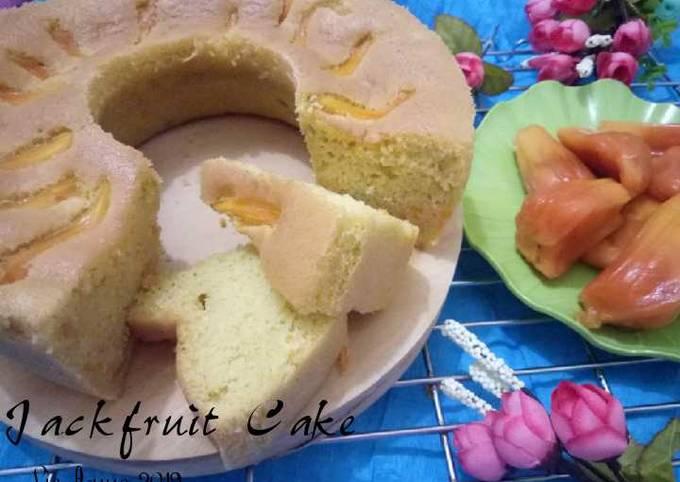 (26.1) Jackfruit Cake (Bolu Nangka)
