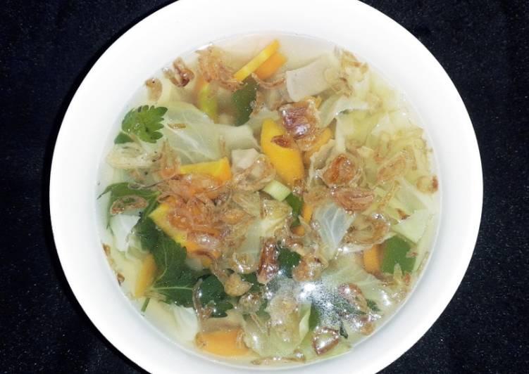 Sayur Sop simple