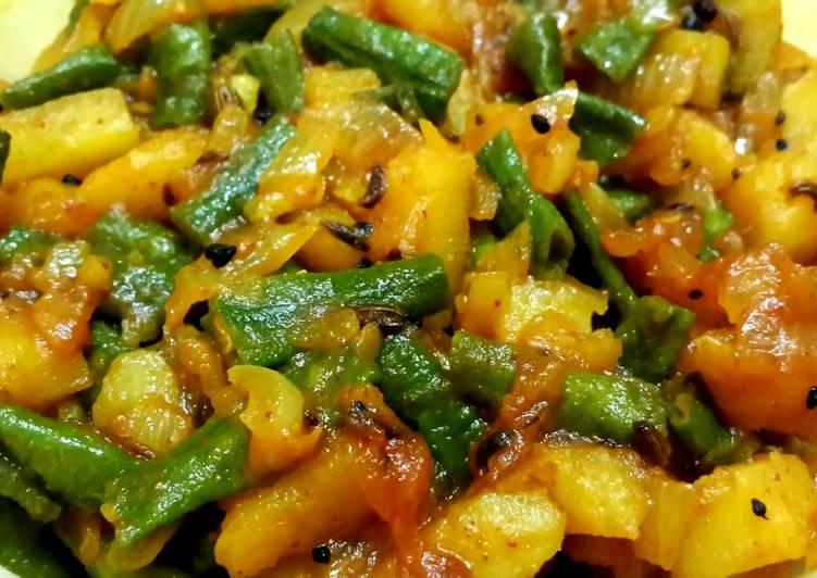 Step-by-Step Guide to Make Favorite Aloo borboti sabji
