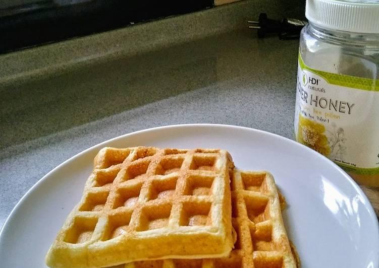 Yeast Waffle / Wafel Ragi Resep Mudah Breakfast Sarapan Anak