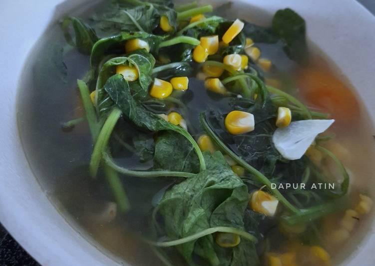 Sayur Bayam Mix Jagung