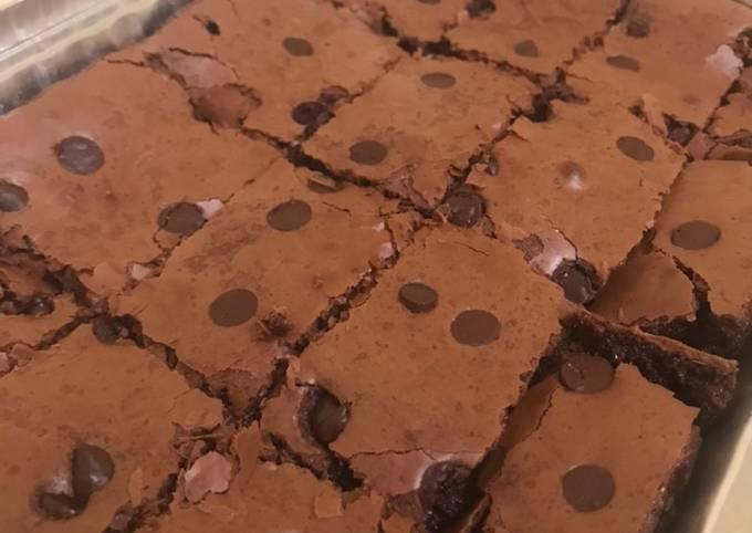 [141] Brownies Choco Chips